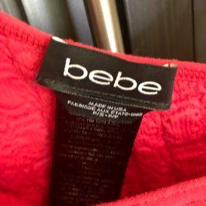 bebe Dresses - Bebe Red Dress